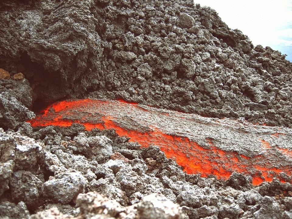 Lava Flow Volcano