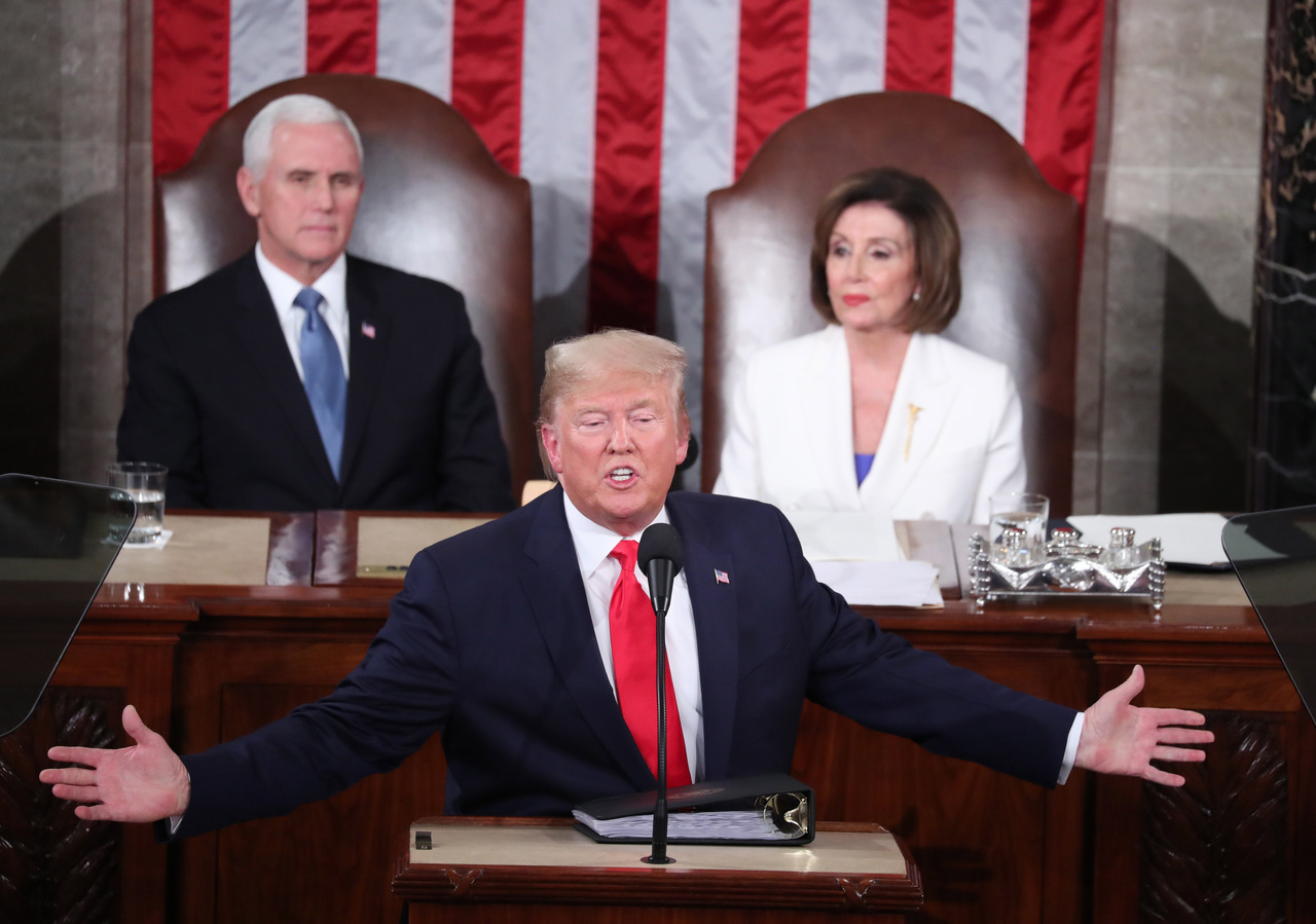 PELOSI, Nancy; TRUMP, Donald; PENCE, Mike