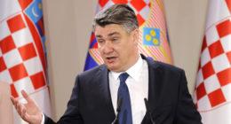 Prime Minister Zoran Milanovic