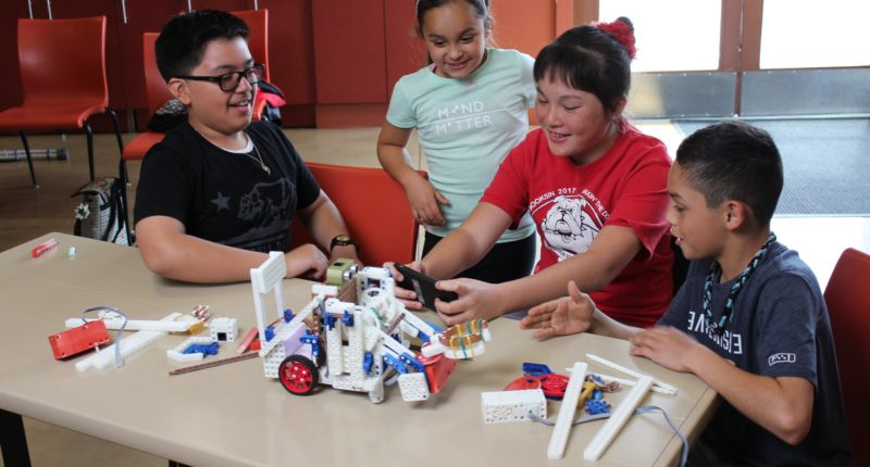 Revolution Robotics Children Learning