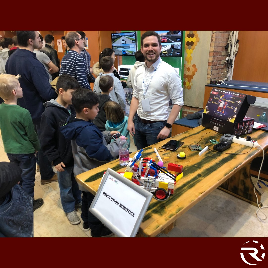 Revolution Robotics Children Learning Fair