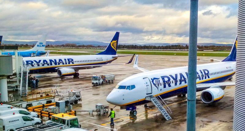 Ryanair, Budapest, airport, Hungary
