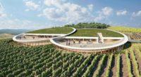 Sauska Winery View Design Plan Tokaj Bord Architect Studio