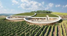 Sauska Winery View Design Plan Tokaj Bord Architect Studio