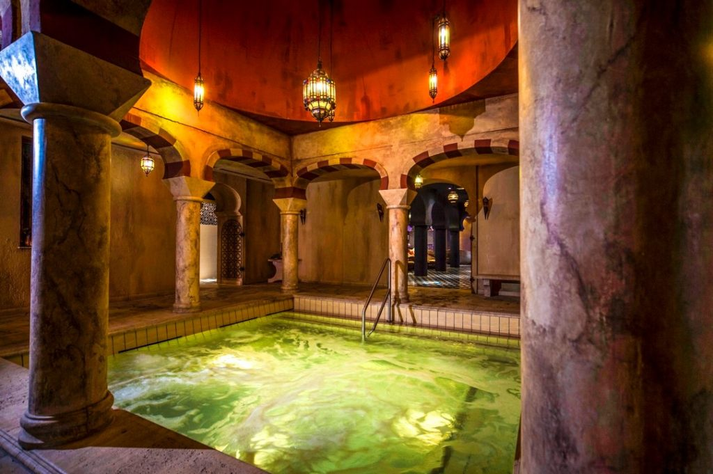 Shiraz Hotel, bath, Egerszalók, hotel, Hungary