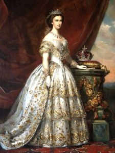Sisi, painting, Queen of Hungary, history