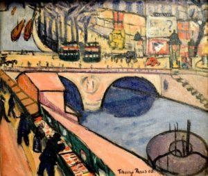 Tihanyi, painting, Hungary, art