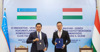 Uzbek-Hungarian business forum in Tashkent