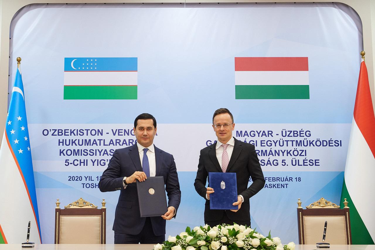 Forum d'affaires ouzbek-hongrois à Tachkent