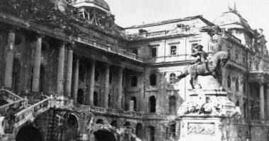 buda castle 1945