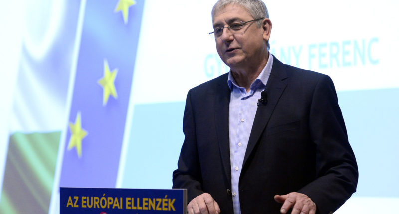 former PM GYURCSÁNY Ferenc