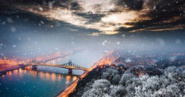 liberty bridge winter