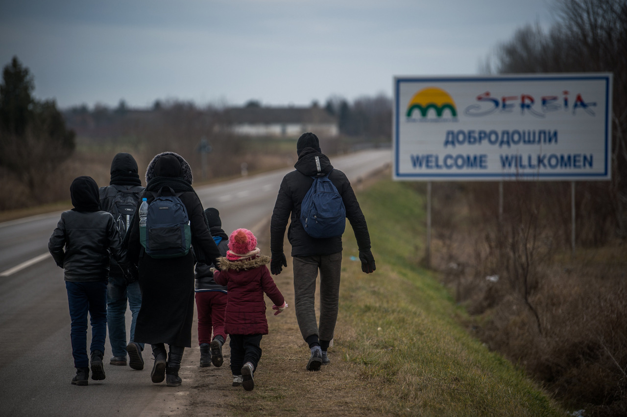 migration serbia