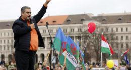 demonstration for romas