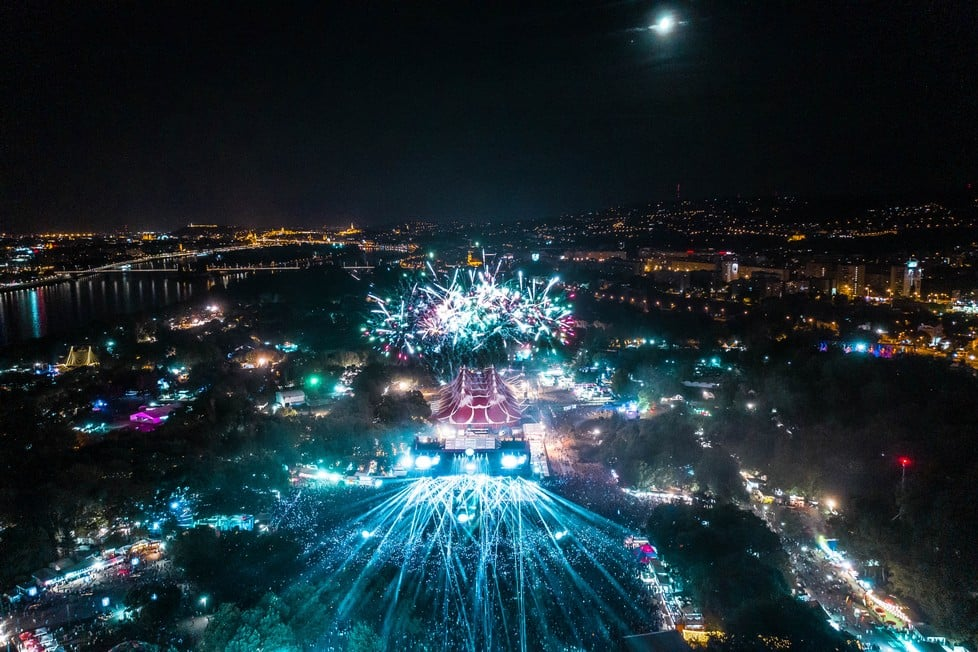 Massive first lineup announcement for Sziget 2020