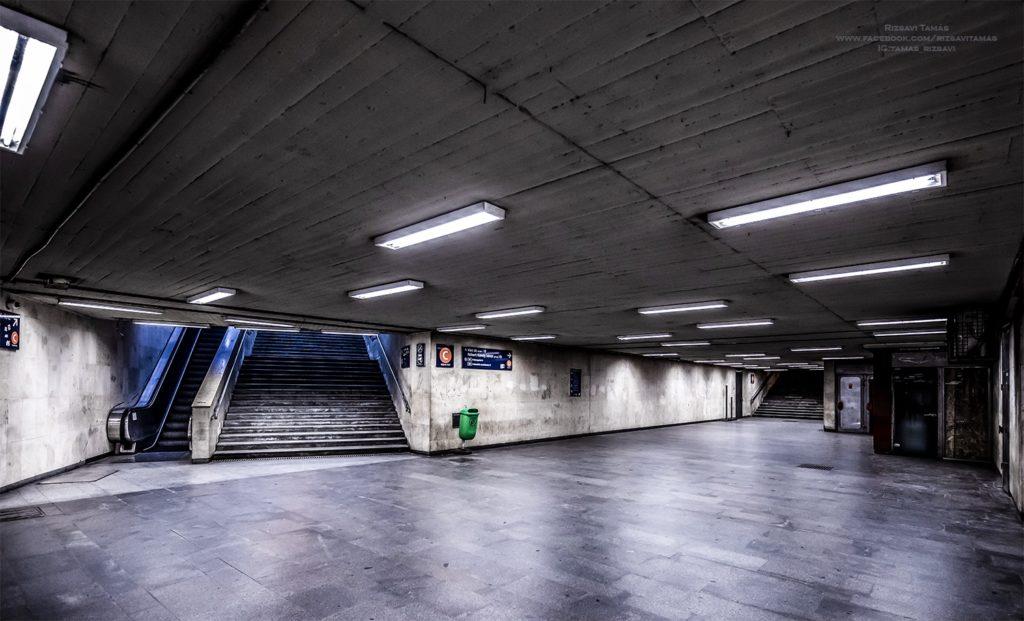 Empty Budapest