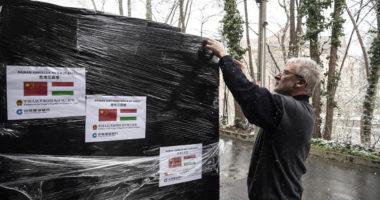 China Construction Bank donates 20,000 face masks to Hungary