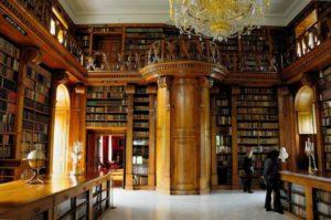 Festetics Castle, Helikon Library, Keszthely, Hungary