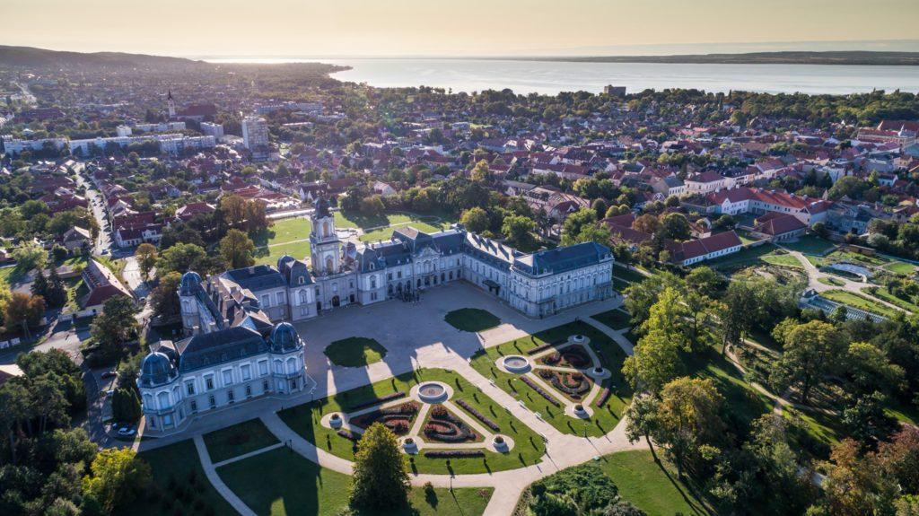 Château Festetics, Keszthely, Hongrie, château, bâtiment