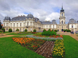 Festetics Castle, building, Keszthely, Hungary, castle, castle garden