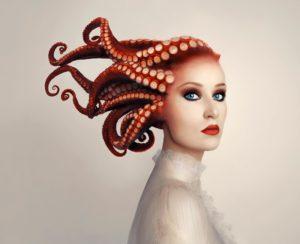 Flóra Borsi, Hungary, photographer, Forbes, octopus