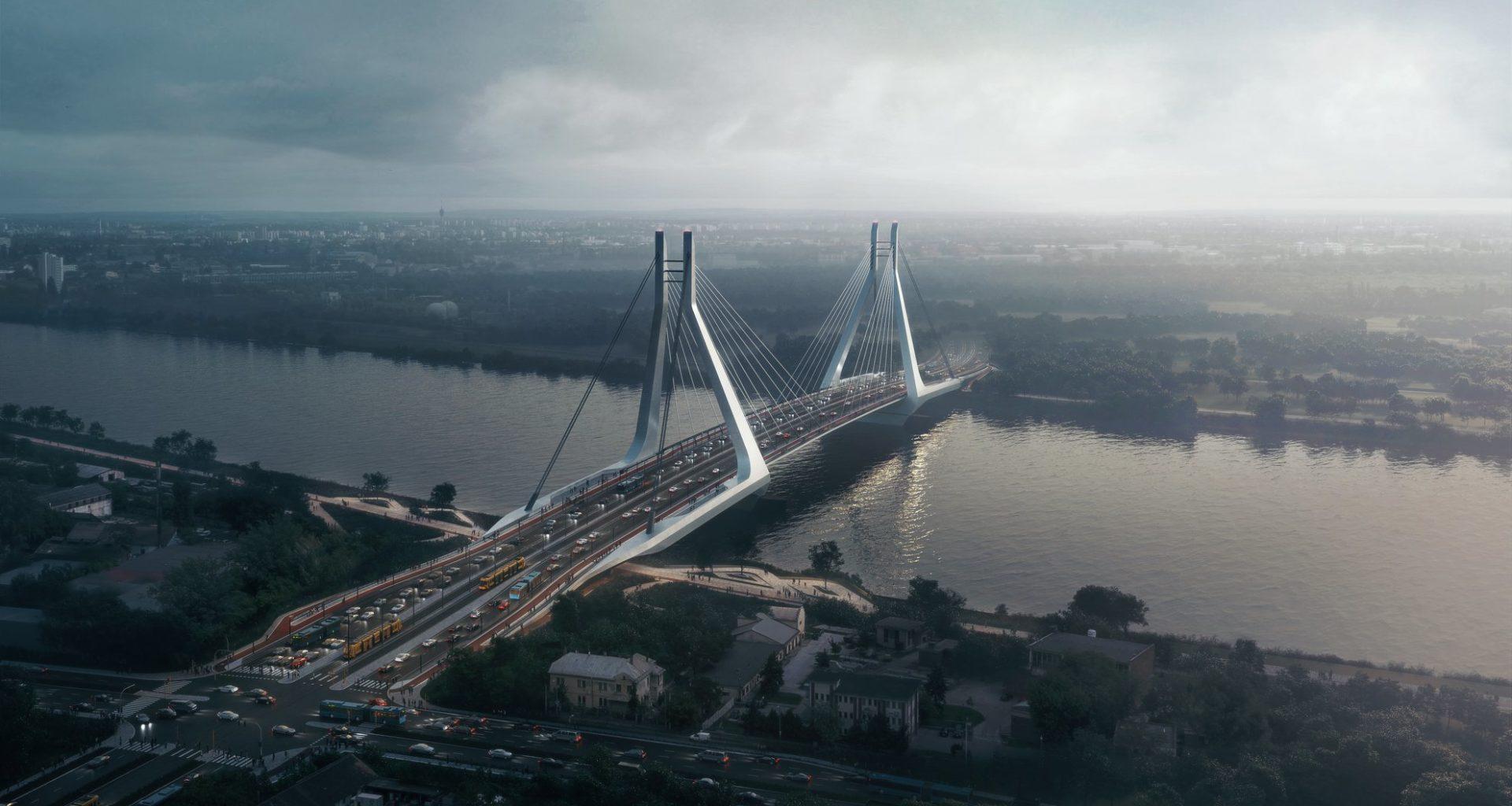 Galvani Bridge, Hungary, Budapest, Danube