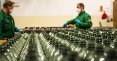 MOL will also start making sanitiser products at its plants in Hungary, Slovakia and Croatia
