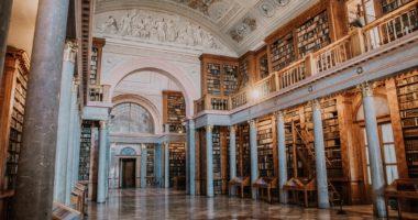 Pannonhalma, library, Hungary