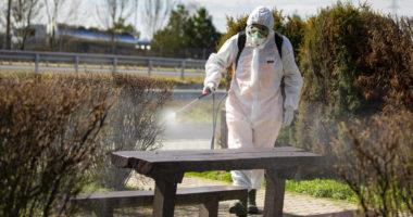 coronavirus cleaning