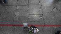 corona empty airport