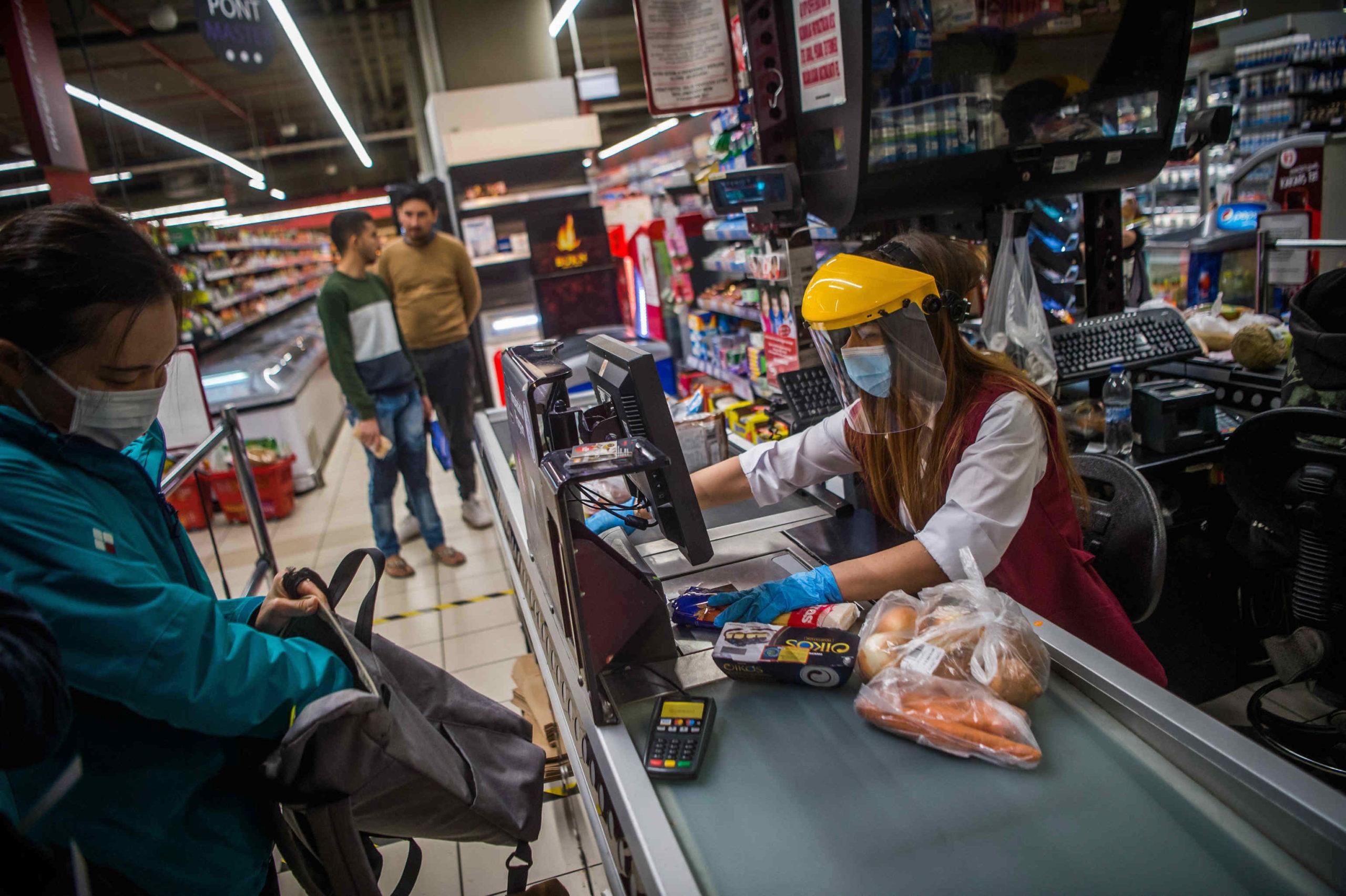 coronavirus grocery store