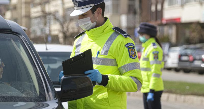 coronavirus police check
