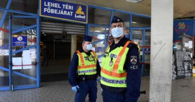 coronavirus police market