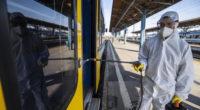 corona train cleaning