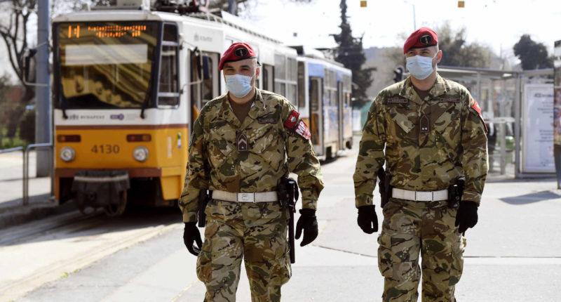 coronavirus curfew guards