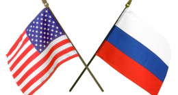 russia usa flag