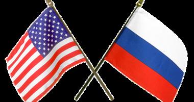 russia usa flag