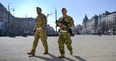hungary-coronavirus-defence-forces debrecen
