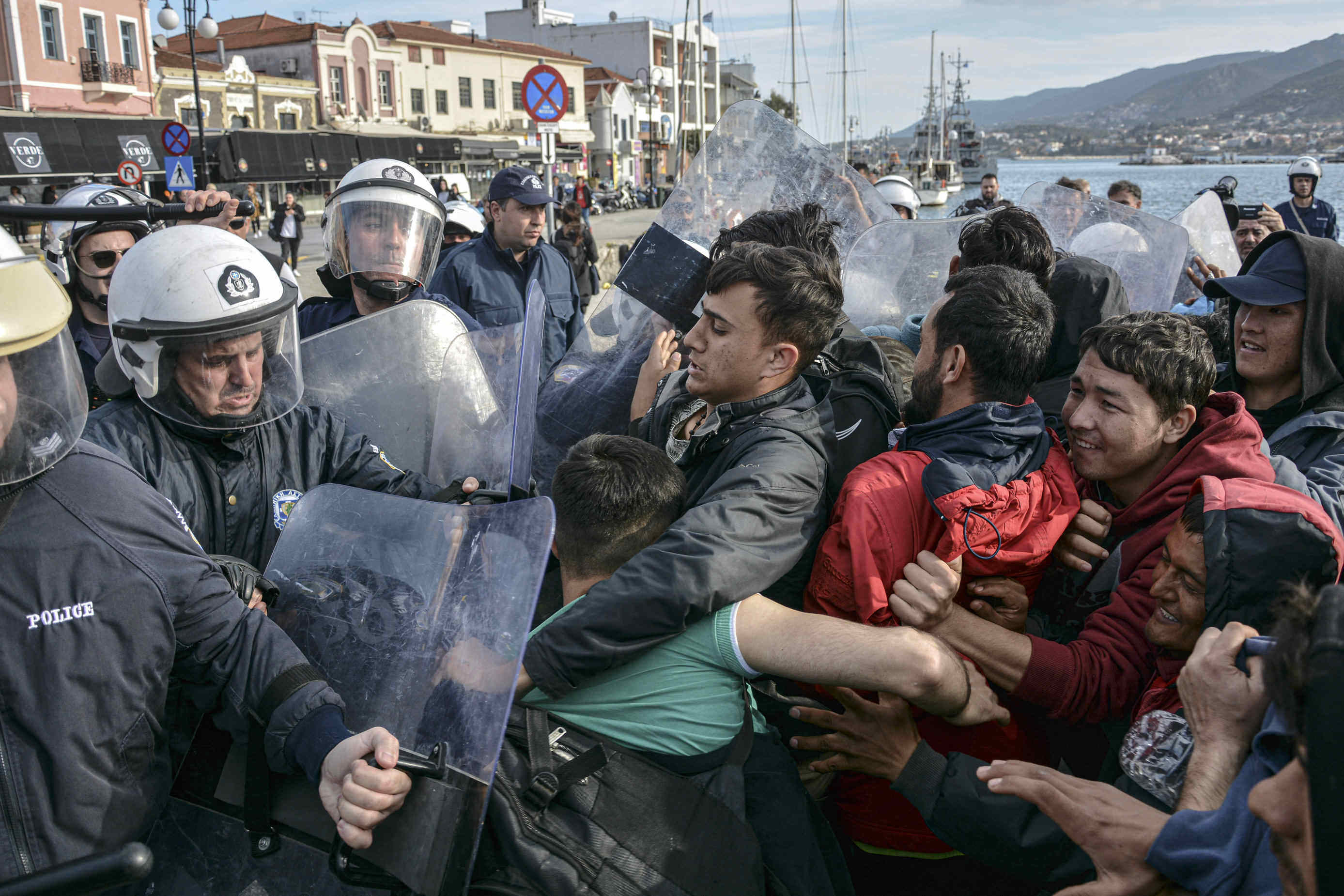 migration greece border