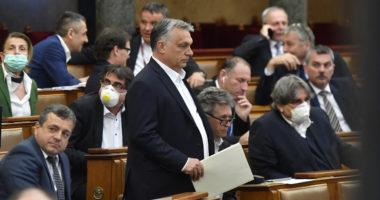 ORBÁN Viktor parliament coronavirus