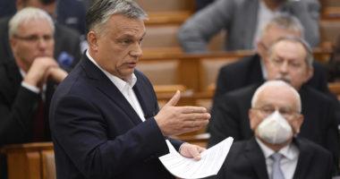 orbán parliament coronavirus