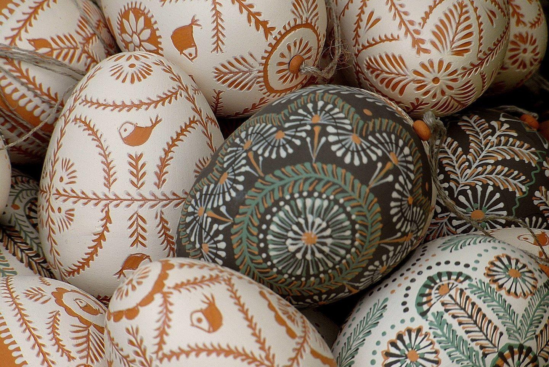 Húsvét Tojás Easter Eggs Ornament Díszítés