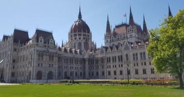 Hungary Budapest parliament 2020 spring