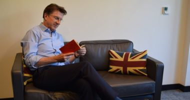 Iain Lindsay British Ambassador of Hungary Reading