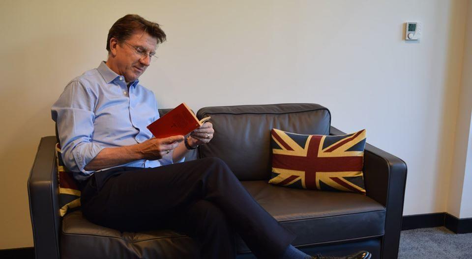 Iain Lindsay British Ambassador of Hungary Reading