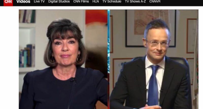 CNN Interview Szijjártó