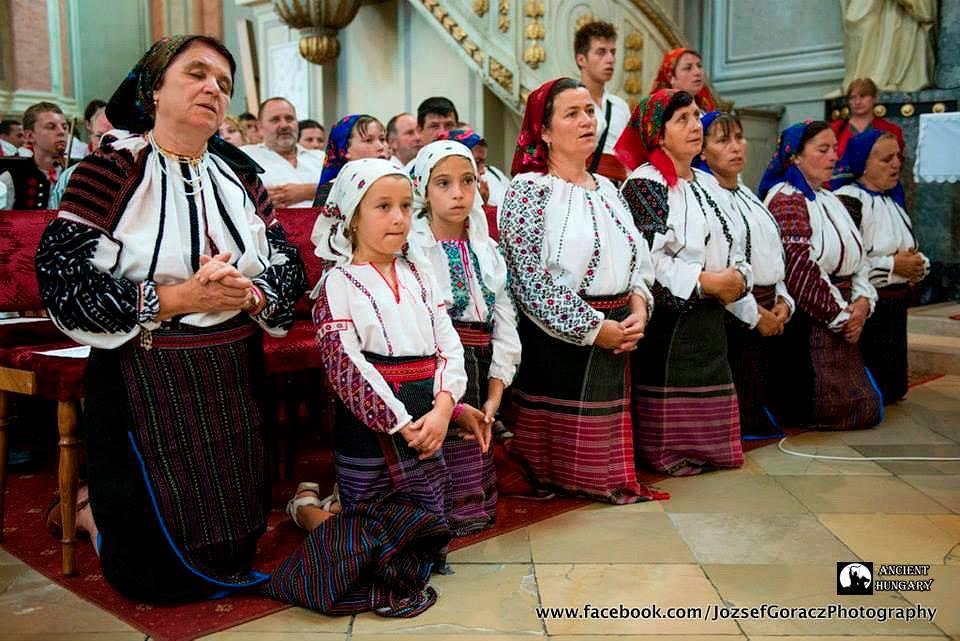 Moldvai csángó katolikus mise