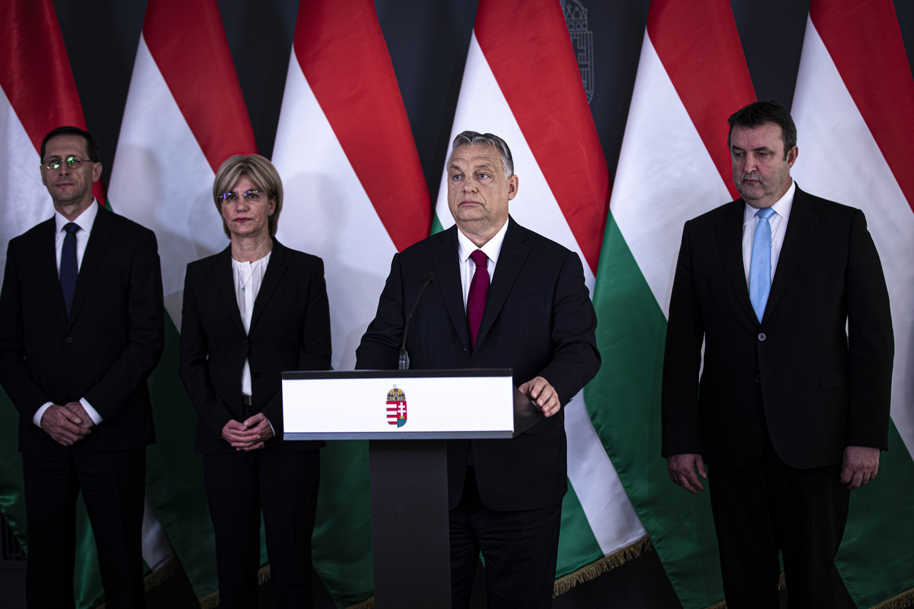 Orban presented a five-point economic protection plan