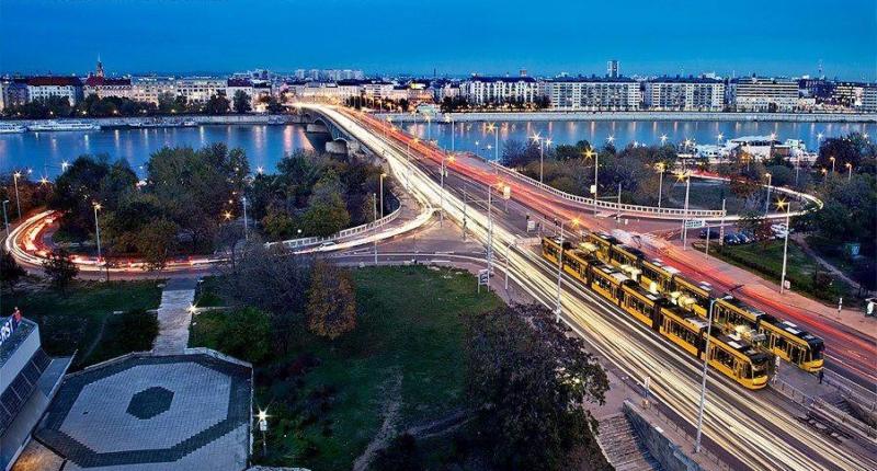 Petőfi híd Budapest