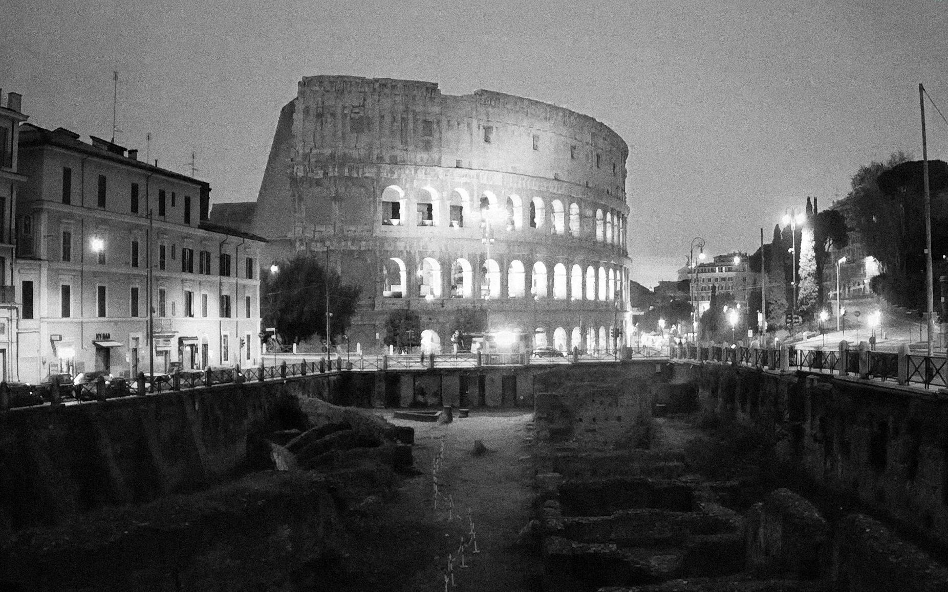 Rome, Colosseum, Radisics, Italy, Hungary